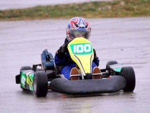 Berti es el puntero del campeonato en la categoría Stihl 60cc.